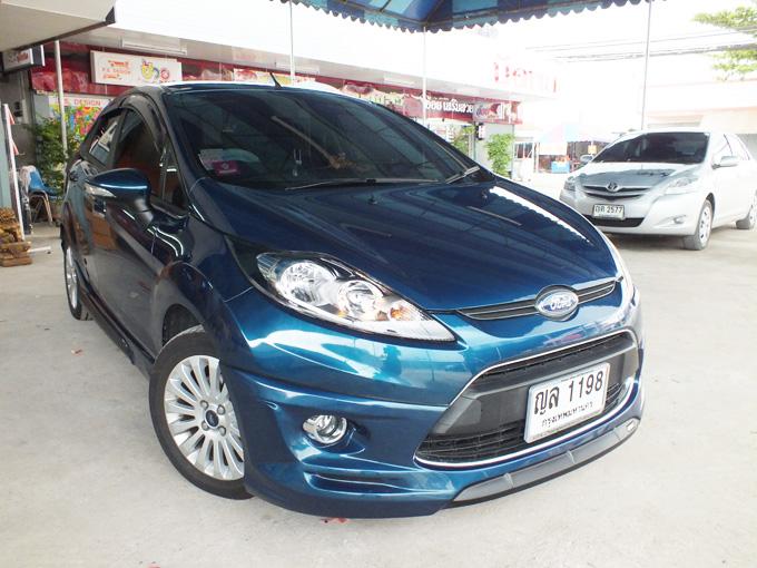 ชุดแต่ง Fiesta 4DR Phantom Blue เฟียนต้า 4 ประตู รูปที่ 2