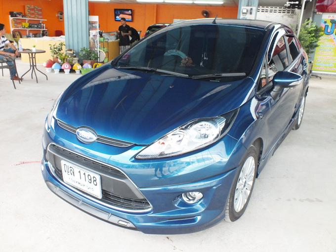 ชุดแต่ง Fiesta 4DR Phantom Blue เฟียนต้า 4 ประตู รูปที่ 3