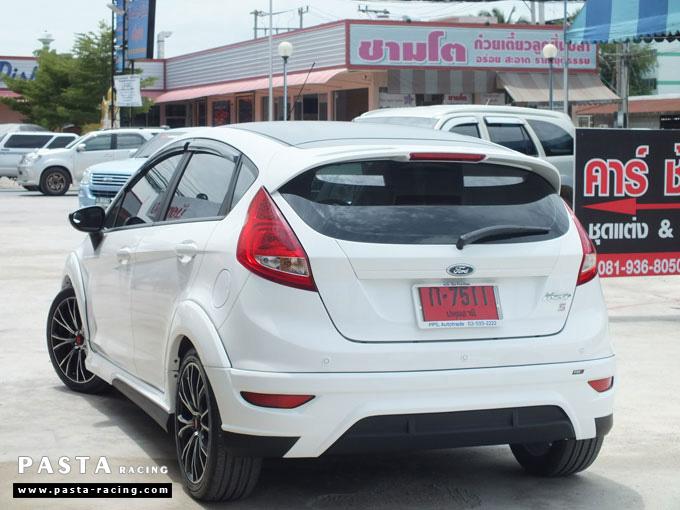 ชุดแต่ง Fiesta 5DR TOP ขาว เฟียสต้า 5 ประตู แบงค์ รูป 6