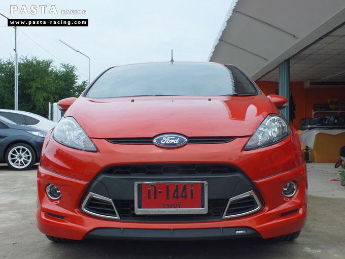 ชุดแต่ง Fiesta 5DR TOP ส้ม เฟียสต้า 5 ประตู คุณ เบิร์ด รูป 1