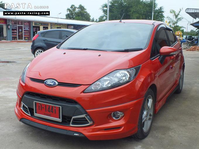 ชุดแต่ง Fiesta 5DR TOP ส้ม เฟียสต้า 5 ประตู คุณ เบิร์ด รูป 3
