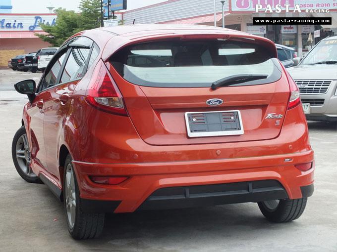 ชุดแต่ง Fiesta 5DR TOP ส้ม เฟียสต้า 5 ประตู คุณ เบิร์ด รูป 6