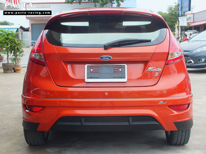 ชุดแต่ง Fiesta 5DR TOP ส้ม เฟียสต้า 5 ประตู คุณ เบิร์ด รูป 7