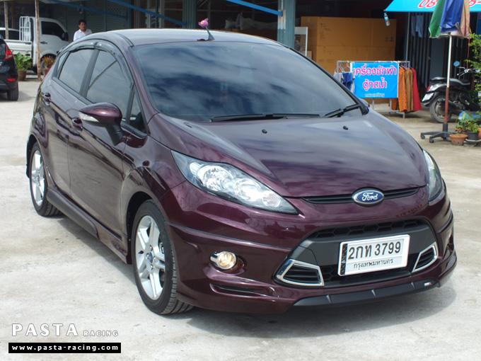 ชุดแต่ง เฟียสต้า Fiesta แต่งสวย 5dr 5 ประตู rbs ideo v2 สเกิร์ต 2011 2012 2013 2014 คุณเก๋ รูป 4
