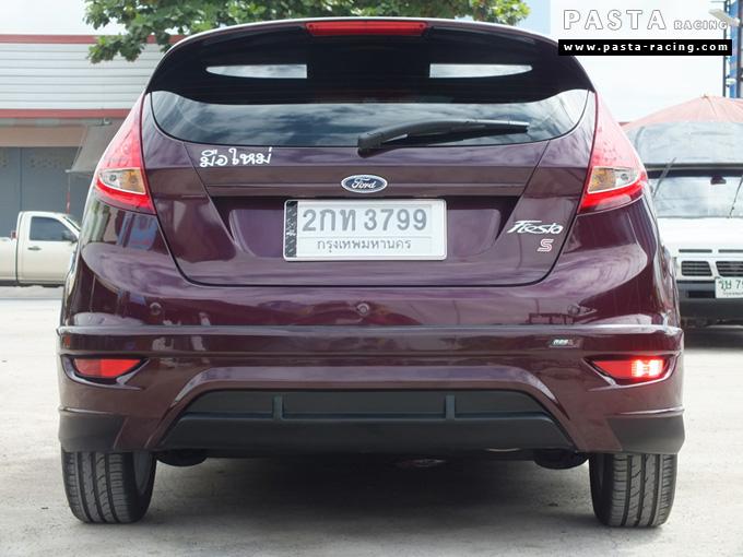 ชุดแต่ง เฟียสต้า Fiesta แต่งสวย 5dr 5 ประตู rbs ideo v2 สเกิร์ต 2011 2012 2013 2014 คุณเก๋ รูป 8