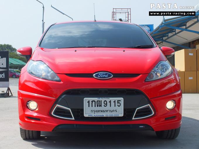ชุดแต่ง เฟียสต้า Fiesta แต่งสวย 5dr 5 ประตู rbs ideo v2 สเกิร์ต 2011 2012 2013 2014 สีแดง คุณน้อง รูป 1