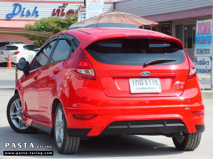 ชุดแต่ง เฟียสต้า Fiesta แต่งสวย 5dr 5 ประตู rbs ideo v2 สเกิร์ต 2011 2012 2013 2014 สีแดง คุณน้อง รูป 7