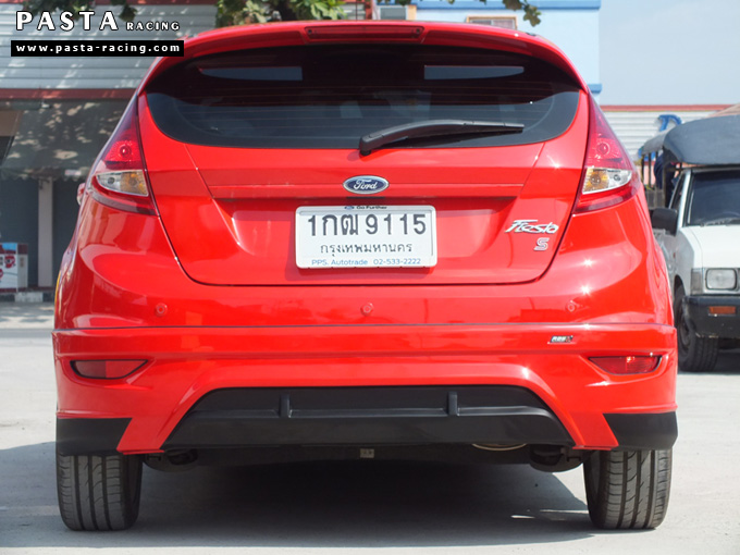 ชุดแต่ง เฟียสต้า Fiesta แต่งสวย 5dr 5 ประตู rbs ideo v2 สเกิร์ต 2011 2012 2013 2014 สีแดง คุณน้อง รูป 8