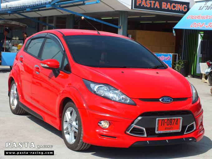 ชุดแต่ง เฟียสต้า Fiesta แต่งสวย 5dr 5 ประตู 2011 2012 2013 2014 rbs ideo v1 สเกิร์ต สีแดง คุณสิรภาพ รูป 4