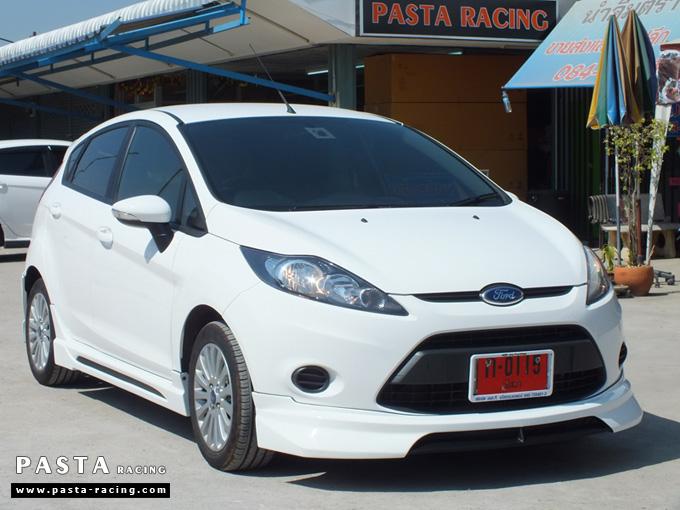 ชุดแต่ง สเกิร์ต เฟียสต้า Fiesta 5 dr ประตู nts1 2011 2012 2013 2014 แต่งสวย สีขาว คุณศิริพร รูป 4
