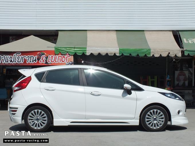 ชุดแต่ง สเกิร์ต เฟียสต้า Fiesta 5 dr ประตู nts1 2011 2012 2013 2014 แต่งสวย สีขาว คุณศิริพร รูป 5