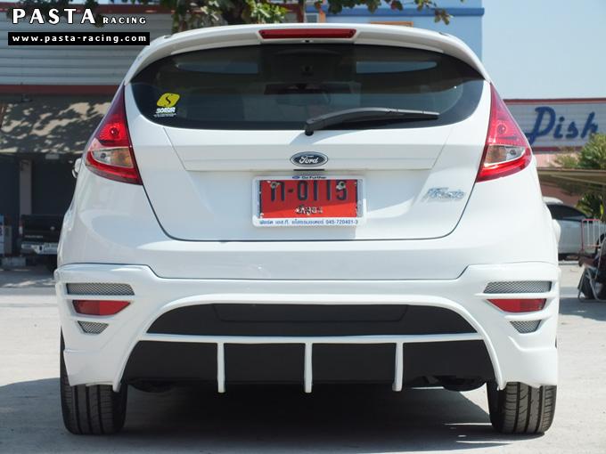 ชุดแต่ง สเกิร์ต เฟียสต้า Fiesta 5 dr ประตู nts1 2011 2012 2013 2014 แต่งสวย สีขาว คุณศิริพร รูป 9
