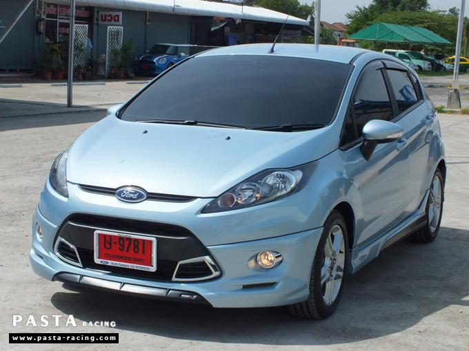 ชุดแต่ง เฟียสต้า Fiesta แต่งสวย 5dr 5 ประตู rbs ideo v2 สเกิร์ต 2011 2012 2013 2014 ฟ้า icy blue คุณเปรม รูป 3