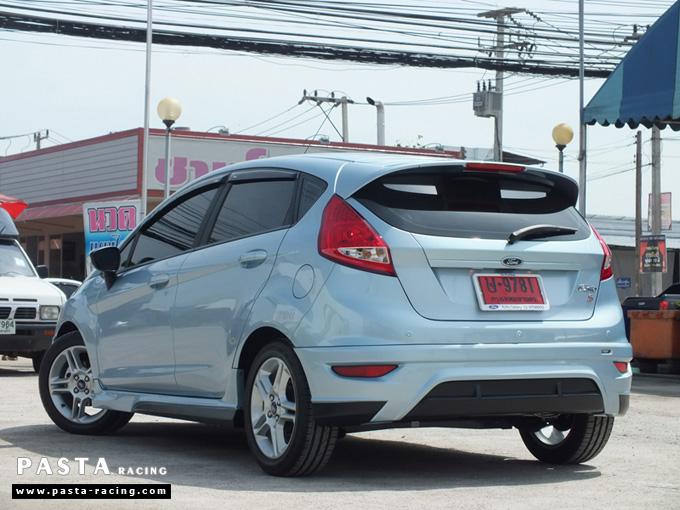 ชุดแต่ง เฟียสต้า Fiesta แต่งสวย 5dr 5 ประตู rbs ideo v2 สเกิร์ต 2011 2012 2013 2014 ฟ้า icy blue คุณเปรม รูป 7