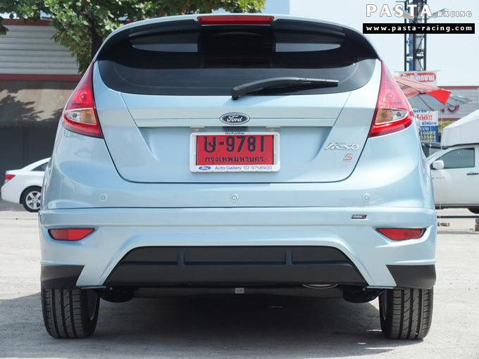 ชุดแต่ง เฟียสต้า Fiesta แต่งสวย 5dr 5 ประตู rbs ideo v2 สเกิร์ต 2011 2012 2013 2014 ฟ้า icy blue คุณเปรม รูป 8