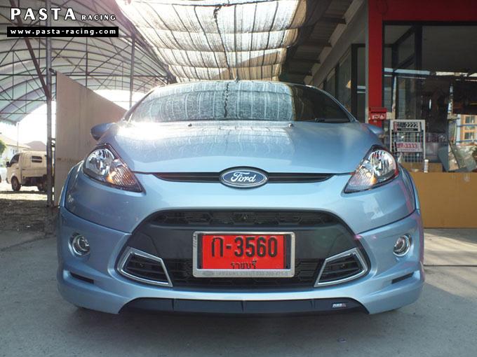 ชุดแต่ง Fiesta 5DR TOP สีน้ำเงิน Icy Blue เฟียสต้า 5 ประตู รูป 1