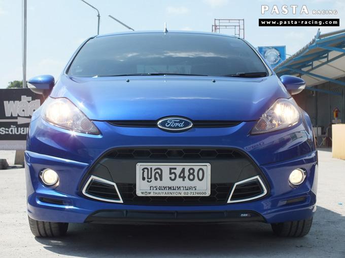 ชุดแต่ง เฟียสต้า Fiesta แต่งสวย 5dr 5 ประตู rbs ideo v2 สเกิร์ต 2011 2012 2013 2014 น้ำเงิน คุณสุนีย์ รูป 1