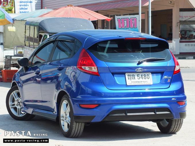 ชุดแต่ง เฟียสต้า Fiesta แต่งสวย 5dr 5 ประตู rbs ideo v2 สเกิร์ต 2011 2012 2013 2014 น้ำเงิน คุณสุนีย์ รูป 7