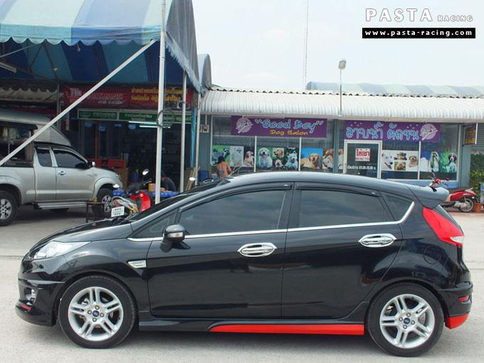 Red Devil ชุดแต่ง Fiesta 5DR TOP ดำ เฟียสต้า 5 ประตู ทำสีแบบพิเศษ คุณทัด รูป 7