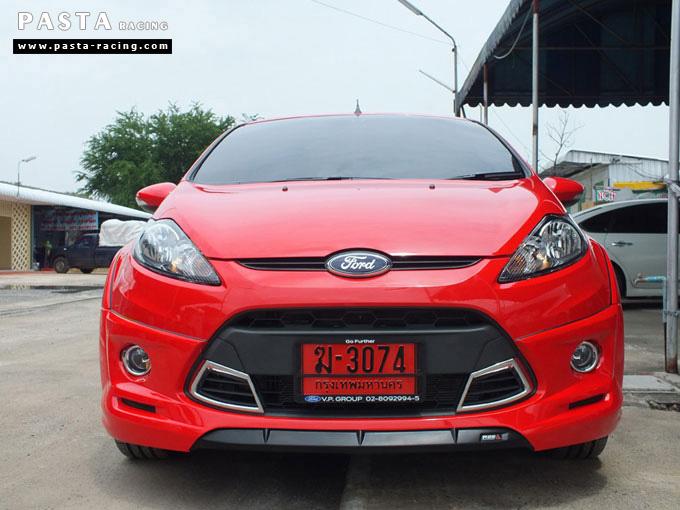ชุดแต่ง Fiesta 5DR TOP สีแดง เฟียสต้า 5 ประตู วรรณ รูป 1