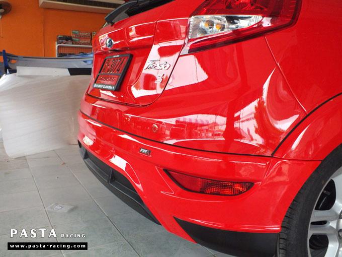 ชุดแต่ง Fiesta 5DR TOP สีแดง เฟียสต้า 5 ประตู วรรณ รูป 9