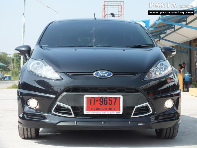 ชุดแต่ง เฟียสต้า Fiesta สเกิร์ต แต่งสวย 5dr 5 ประตู rbs ideo v2 2011 2012 2013 2014 คุณสาวิตรี รูป 1