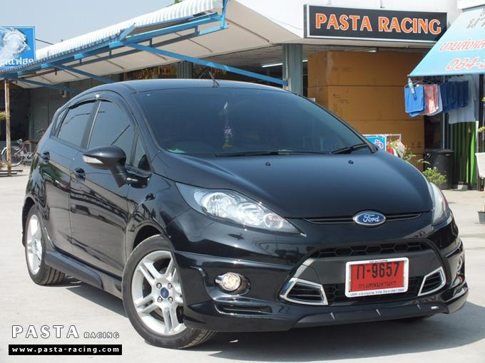 ชุดแต่ง เฟียสต้า Fiesta สเกิร์ต แต่งสวย 5dr 5 ประตู rbs ideo v2 2011 2012 2013 2014 คุณสาวิตรี รูป 2