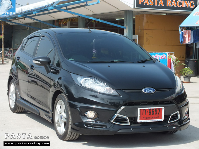 ชุดแต่ง เฟียสต้า Fiesta สเกิร์ต แต่งสวย 5dr 5 ประตู rbs ideo v2 2011 2012 2013 2014 คุณสาวิตรี รูป 4