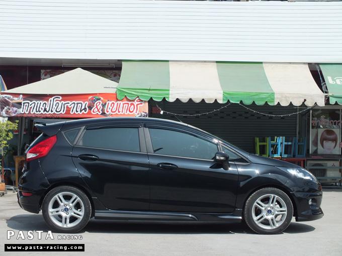 ชุดแต่ง เฟียสต้า Fiesta สเกิร์ต แต่งสวย 5dr 5 ประตู rbs ideo v2 2011 2012 2013 2014 คุณสาวิตรี รูป 5