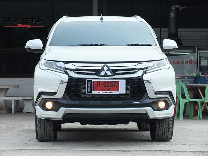 ชุดแต่ง สเกิร์ต แต่งรถ ของแต่งรถ อุปกรณ์แต่งรถ all new pajero sport 2015 2016 2017 2018 rbs ใหม่ล่าสุด รังสิต ลำลูกกา ปทุมธานี กรุงเทพ สีขาวมุก ทีมคุณอ้อ รูป 2