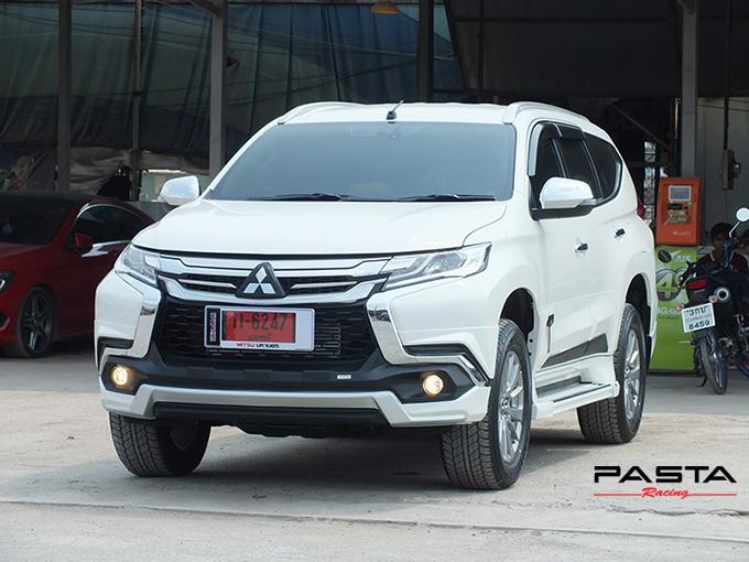 ชุดแต่ง สเกิร์ต แต่งรถ ของแต่งรถ อุปกรณ์แต่งรถ all new pajero sport 2015 2016 2017 2018 rbs ใหม่ล่าสุด รังสิต ลำลูกกา ปทุมธานี กรุงเทพ สีขาวมุก ทีมคุณอ้อ รูป 4