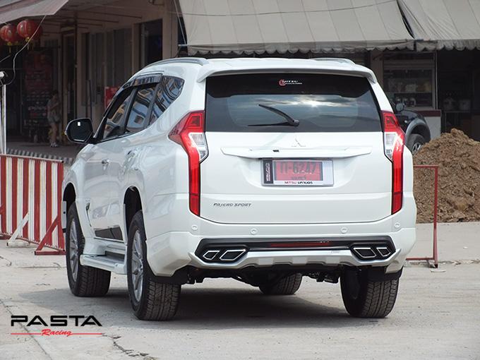 ชุดแต่ง สเกิร์ต แต่งรถ ของแต่งรถ อุปกรณ์แต่งรถ all new pajero sport 2015 2016 2017 2018 rbs ใหม่ล่าสุด รังสิต ลำลูกกา ปทุมธานี กรุงเทพ สีขาวมุก ทีมคุณอ้อ รูป 6