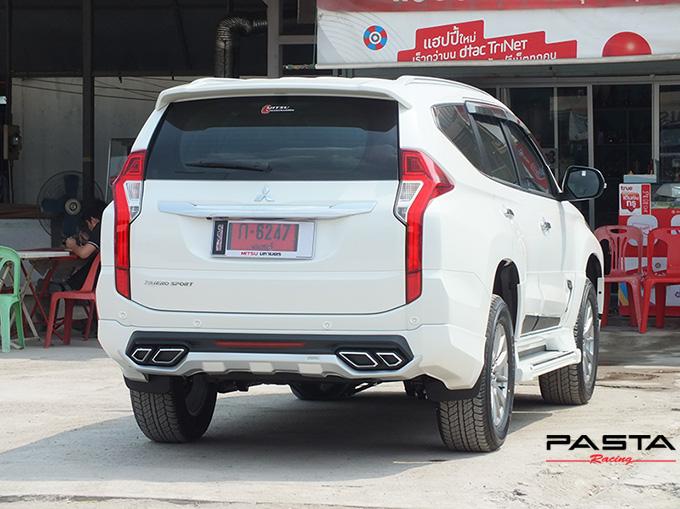 ชุดแต่ง สเกิร์ต แต่งรถ ของแต่งรถ อุปกรณ์แต่งรถ all new pajero sport 2015 2016 2017 2018 rbs ใหม่ล่าสุด รังสิต ลำลูกกา ปทุมธานี กรุงเทพ สีขาวมุก ทีมคุณอ้อ รูป 7