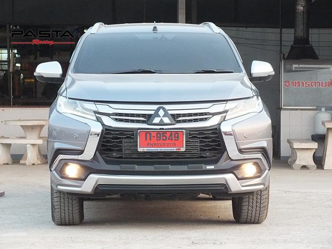 ชุดแต่ง สเกิร์ต แต่งรถ ของแต่งรถ อุปกรณ์แต่งรถ all new pajero sport 2015 2016 2017 2018 rbs ใหม่ล่าสุด รังสิต ลำลูกกา ปทุมธานี กรุงเทพ สีเทาไทเทเนียม คุณโก้ รูป 1