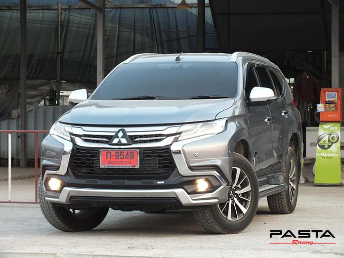 ชุดแต่ง สเกิร์ต แต่งรถ ของแต่งรถ อุปกรณ์แต่งรถ all new pajero sport 2015 2016 2017 2018 rbs ใหม่ล่าสุด รังสิต ลำลูกกา ปทุมธานี กรุงเทพ สีเทาไทเทเนียม คุณโก้ รูป 2