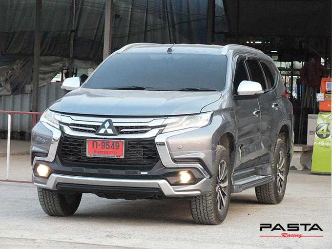 ชุดแต่ง สเกิร์ต แต่งรถ ของแต่งรถ อุปกรณ์แต่งรถ all new pajero sport 2015 2016 2017 2018 rbs ใหม่ล่าสุด รังสิต ลำลูกกา ปทุมธานี กรุงเทพ สีเทาไทเทเนียม คุณโก้ รูป 3