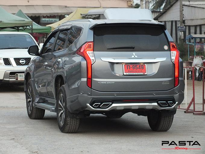 ชุดแต่ง สเกิร์ต แต่งรถ ของแต่งรถ อุปกรณ์แต่งรถ all new pajero sport 2015 2016 2017 2018 rbs ใหม่ล่าสุด รังสิต ลำลูกกา ปทุมธานี กรุงเทพ สีเทาไทเทเนียม คุณโก้ รูป 5