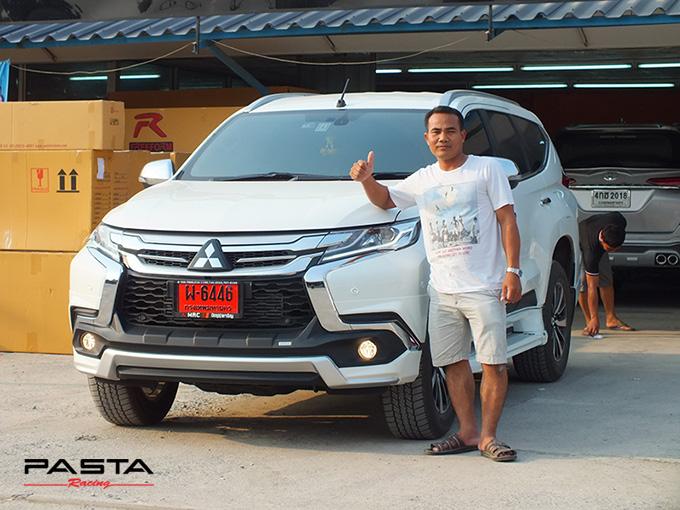 ชุดแต่ง สเกิร์ต แต่งรถ ของแต่งรถ อุปกรณ์แต่งรถ all new pajero sport 2015 2016 2017 2018 rbs ใหม่ล่าสุด รังสิต ลำลูกกา ปทุมธานี กรุงเทพ สีขาวมุก ปราโมทย์ รูป 1