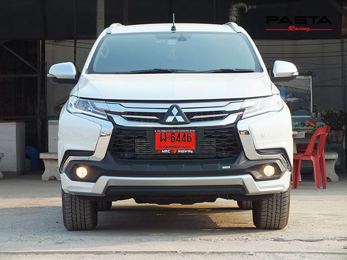 ชุดแต่ง สเกิร์ต แต่งรถ ของแต่งรถ อุปกรณ์แต่งรถ all new pajero sport 2015 2016 2017 2018 rbs ใหม่ล่าสุด รังสิต ลำลูกกา ปทุมธานี กรุงเทพ สีขาวมุก ปราโมทย์ รูป 2