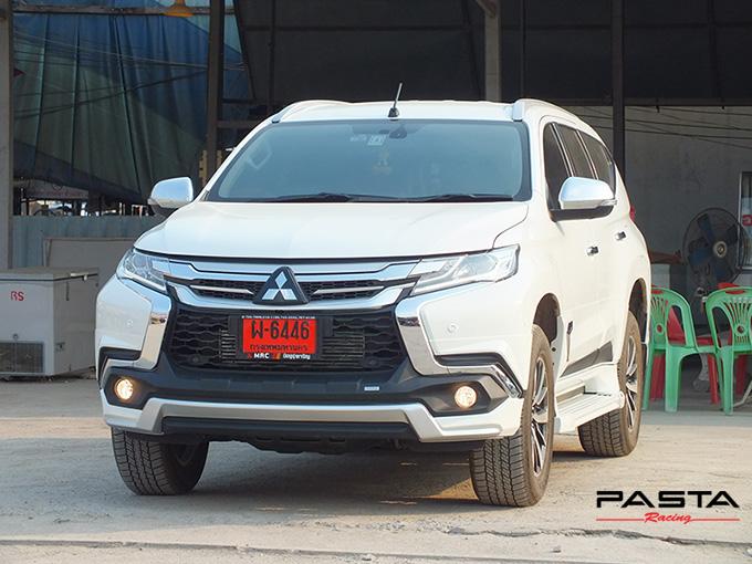 ชุดแต่ง สเกิร์ต แต่งรถ ของแต่งรถ อุปกรณ์แต่งรถ all new pajero sport 2015 2016 2017 2018 rbs ใหม่ล่าสุด รังสิต ลำลูกกา ปทุมธานี กรุงเทพ สีขาวมุก ปราโมทย์ รูป 3
