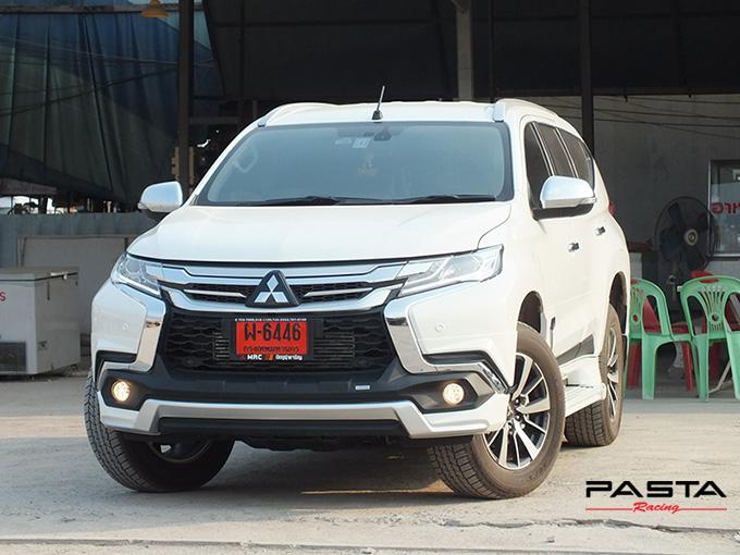 ชุดแต่ง สเกิร์ต แต่งรถ ของแต่งรถ อุปกรณ์แต่งรถ all new pajero sport 2015 2016 2017 2018 rbs ใหม่ล่าสุด รังสิต ลำลูกกา ปทุมธานี กรุงเทพ สีขาวมุก ปราโมทย์ รูป 4