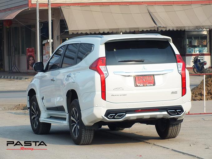 ชุดแต่ง สเกิร์ต แต่งรถ ของแต่งรถ อุปกรณ์แต่งรถ all new pajero sport 2015 2016 2017 2018 rbs ใหม่ล่าสุด รังสิต ลำลูกกา ปทุมธานี กรุงเทพ สีขาวมุก ปราโมทย์ รูป 6