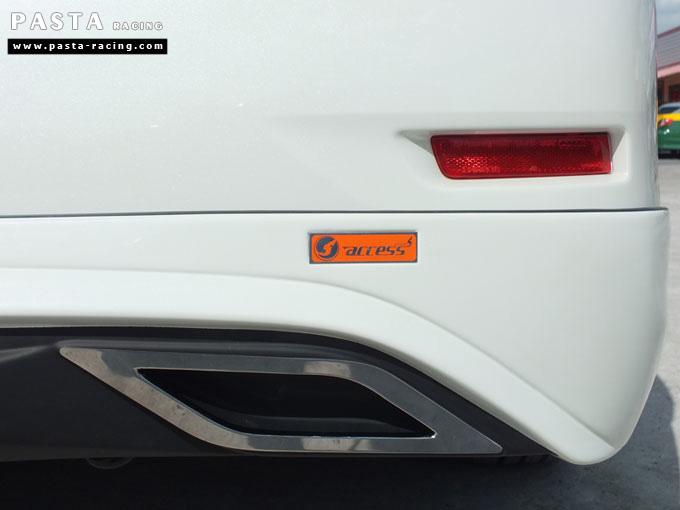 ชุดแต่ง Nissan Sylphy Access ซิลฟี่ สเกิร์ต รอบคัน นิสสัน รังสิต ลำลูกกา ปทุมธานี กรุงเทพฯ ขาวมุก คุณจันทร์สุดา รูป 10